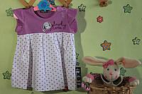 Летнее платье для девочки до года на возраст 9 мес