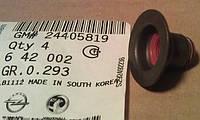Колпачок маслосъёмный (сальник клапана , уплотнение) GM 0642002 24405819 для Z16XEP Z16XE1 Z16LET A16LET Z16XER A16XER Z16LER A16LER Z16LEL A16LEL