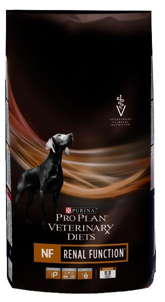 Лечебный корм для собак Purina Pro Plan Vet Diets NF при заболеваниях почек