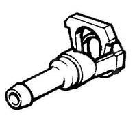 Штуцер (соединитель, переходник, разъём, защёлка) пластиковый шланга (трубки) фароомывателя (омывателя фар) OPEL VECTRA-C ASTRA-G ZAFIRA-A OMEGA-B