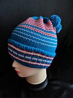 Детские шапки вязанные на зиму купить