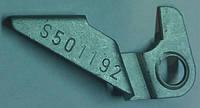 Флажок (рычаг) регулировки самоподводки задних барабанных колодок правый (серый) металлический GM 0556441 90182366 S501192 OPEL Astra-F/G Corsa-A/B/C