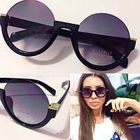 Модные женские солнцезащитные круглые очки s-4316223