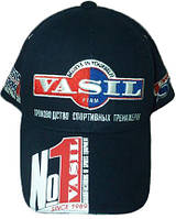 "Бейсболка с логотипом под заказ. Бейсболка ""Vasil"", фото 1"