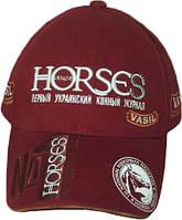 "Бейсболка с логотипом под заказ. Бейсболка ""Horses"", фото 1"