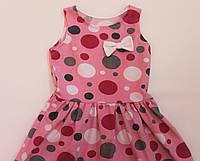 Платье с бантиком для девочек