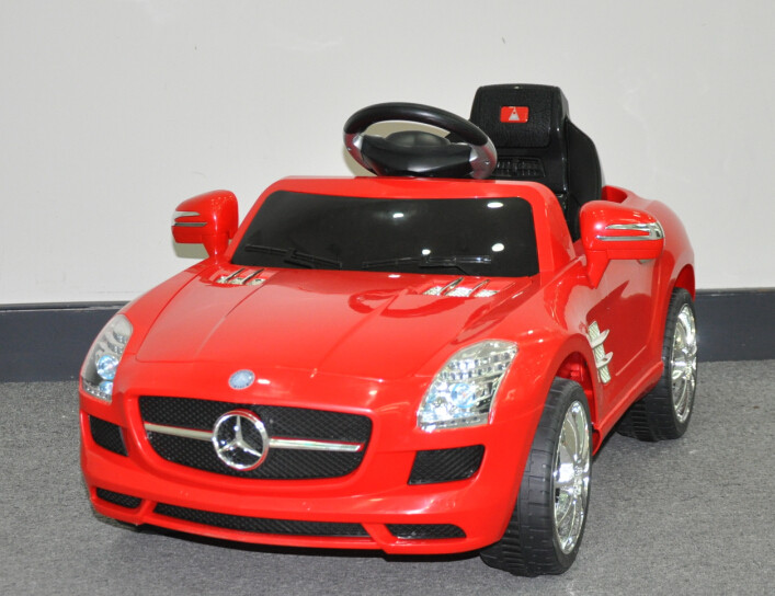 Эл-мобиль T-793 Mercedes SLS AMG легковая на р.у. 6V4AH с MP3 108*62*49