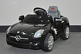 Эл-мобиль T-793 Mercedes SLS AMG легковая на р.у. 6V4AH с MP3 108*62*49 , фото 2