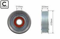 Натяжной ролик ремня генератора Mazda 3 Mazda 2  1.4/1.6