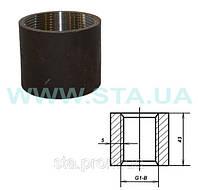 Муфта стальная  прямая 40мм ГОСТ 8966-75