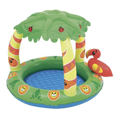 Бассейн детский круглый надувной Bestway 52179