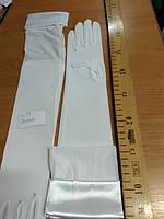Перчатки свадебные #13 белые