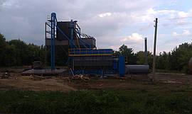 Начало монтажа бункеров на ЗАВ