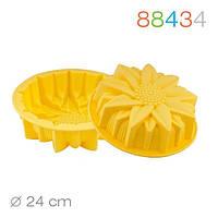 88434 Форма для выпекания подсолнуха силиконовая SilicoFlex Granchio