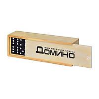 Домино в деревянной коробке Metr+ M 0027