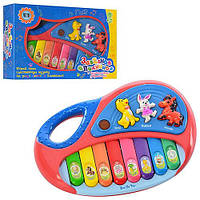 Пианино с животными 18,5-12,5-4,5см