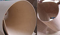Гибкая фанера Сейба 2440х1220мм толщиной 3 мм, 5 мм для обшивки фургона.