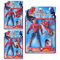 Супергерой спайдермен на мотоцикле Metr+ TBG 110114