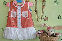 Летнее платье для девочки на возраст 2 года