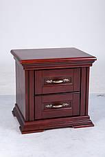 Спальня в классическом стиле Маргарита массив ольхи  Микс мебель, цвет каштан, фото 2