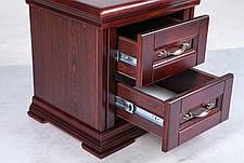 Спальня в классическом стиле Маргарита массив ольхи  Микс мебель, цвет каштан, фото 3