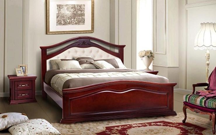 Спальня в классическом стиле Маргарита массив ольхи  Микс мебель, цвет каштан