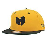 Кепка New Era Wu-Tang Snapback Yellow-Black, фото 1