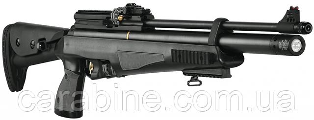 Пневматический пистолет карабин Hatsan AT44-10 tact long с насосом