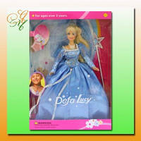 Кукла DEFA 20947 фея, аксессуары, кулон