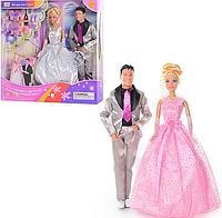 "Кукла DEFA 20991 ""Жених и невеста"" (в коробке, 33-34-6 см)"