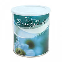 Воск для депиляции в банке азулен Beautyhall Azulene 800 мл