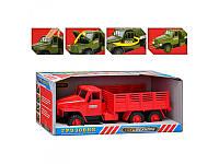 Вантажівка M 1340 U/R звук, світло, відкриваються двері і капот, в кор-ке, 33-13,5-13см