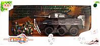 Набор военный 36082 БМП, мотоцикл,солдаты
