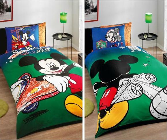 Подростковый постельный комплект Mickey Space Wheels, TAC