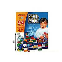 Конструктор дитячий Юні-блок 0125 Юніка 94 дет.