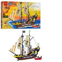 Конструктор Пиратская серия 590 деталей Brick 307/298782
