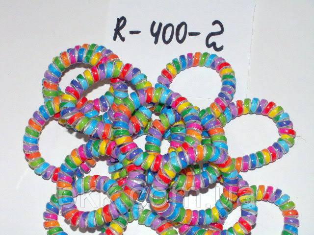Резинка (вермішель) пластикова ряба R-400-2