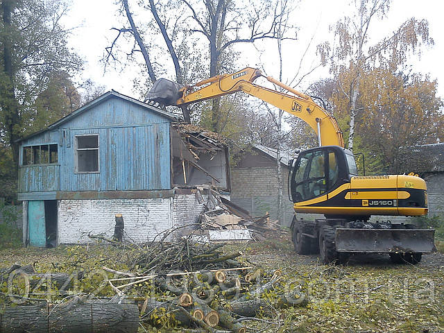 Демонтаж сооружений Снос строений конструкций Слом зданий