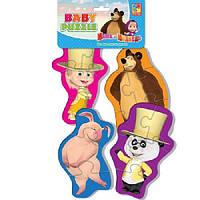 Беби пазлы Маша и Медведь (Танцор) Vladi Toys VT1106-43