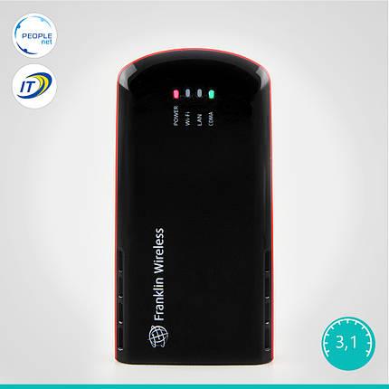 Мобильный 3G WiFi Роутер Franklin R526 (Наличие Lan-порта), фото 2
