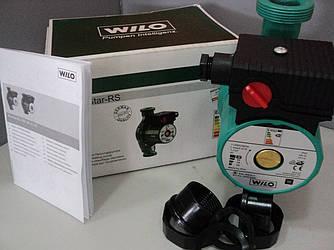 Циркуляционный насос Wilo-RS25/6-180 для системы отопления двухэтажного дома