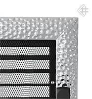 Вентиляционная решетка KRATKI VENUS 22х37 СМ никелированная с жалюзи