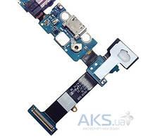 Шлейф для Samsung N920 Galaxy Note 5 с разъемом зарядки, гарнитуры и микрофоном Original