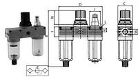 Сборки блоков подготовки воздуха Т100-Т400