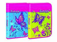Папка для труда на молнии А4 Butterfly 7507