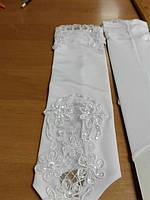 перчатки свадебные #14 белые