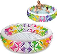 Детский надувной круглый бассейн Intex 56494