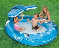 """Детский надувной бассейн """"Кит"""" (Intex 57435)"""