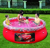 """Семейный надувной бассейн """"Тачки"""" Bestway 91026  (244-66 см)"""
