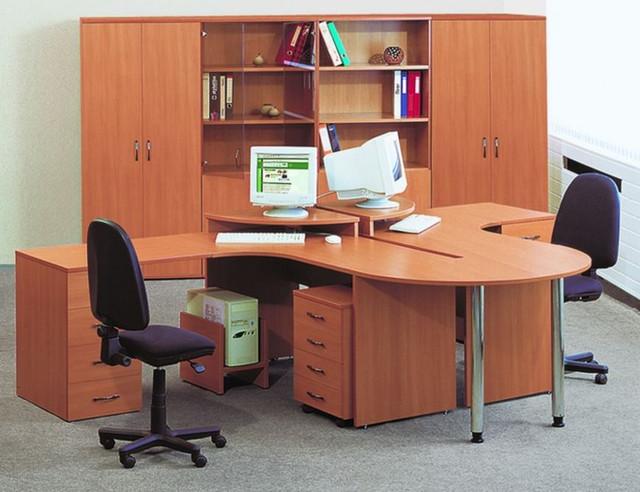Корпусная офисная мебель линейка Стиль в интерьере офиса